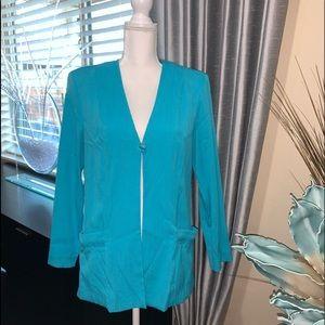 Beautiful bright blue blazer/jacket